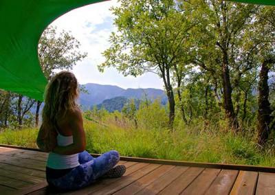 Meditation at Col di Lavacchio