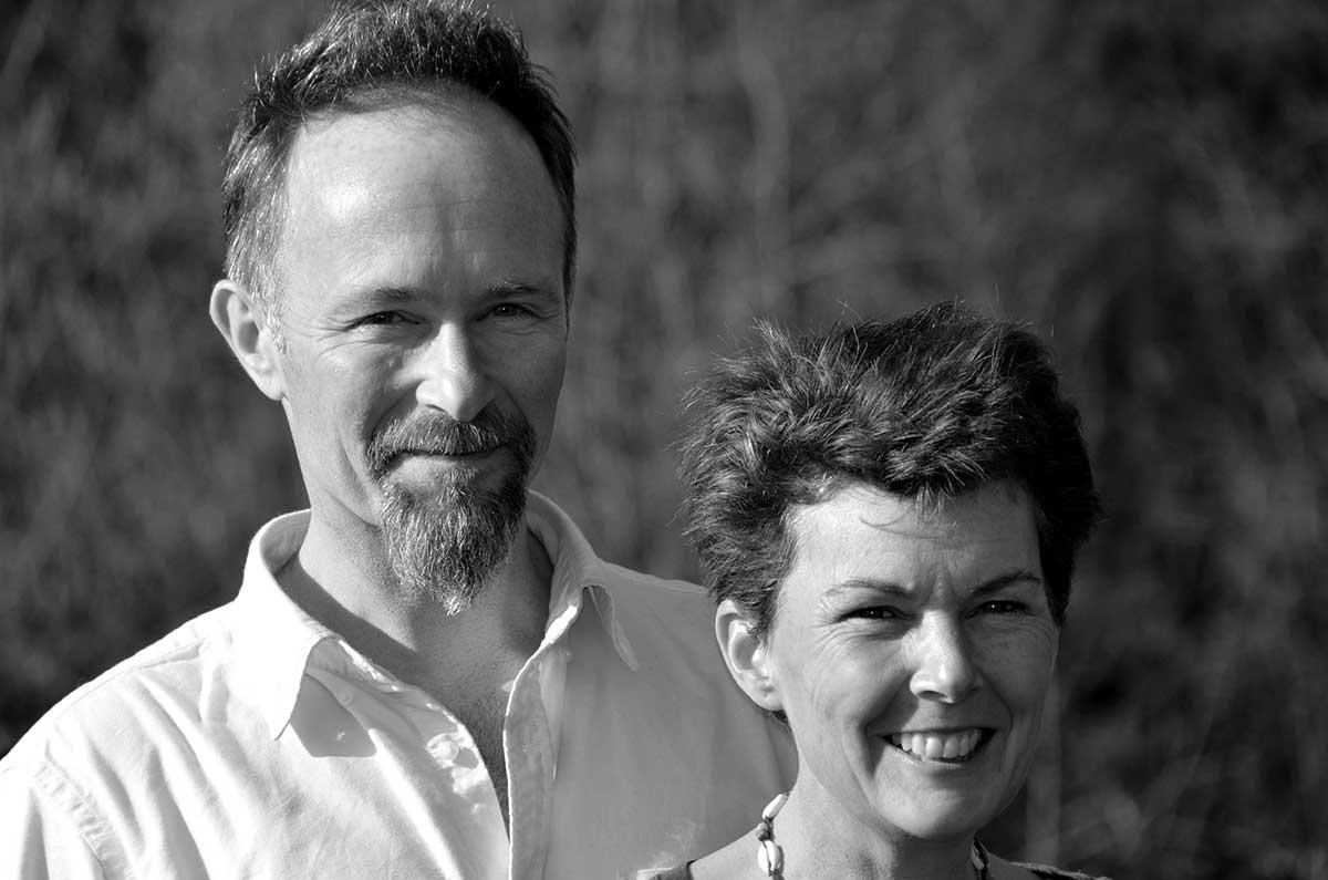 Jamie and Ailsa, creators of the organic farm