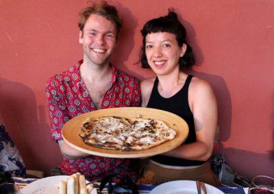 Pizza Lavacchio Tuscany Italy