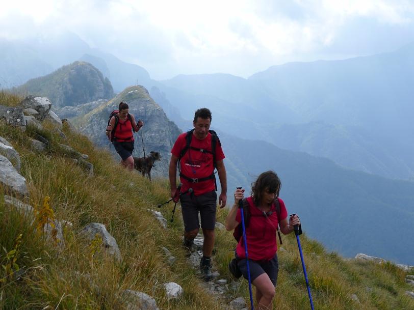 Monte Ferato ridge | Col di Lavacchio walking holidays