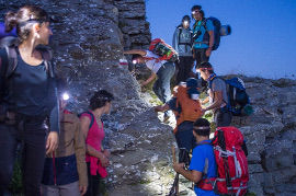 2019Apennino night trek