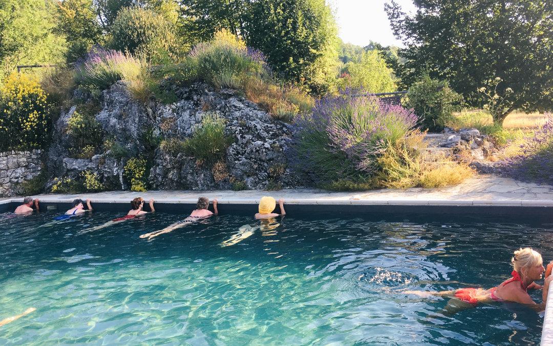 Pilates class Tuscany Italy