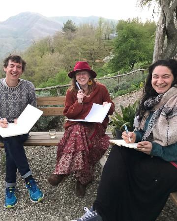 Writing retreat Col di Lavacchio Tuscany Italy