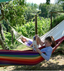relax at col di lavacchio tuscany italy
