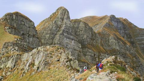 Monte Giovo Ridge Tuscany Italy