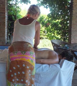 Massage Col di Lavacchio Tuscany Italy