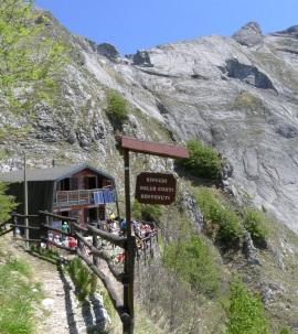 Rifugio Nello Conti Apuane Alps Tuscany Italy