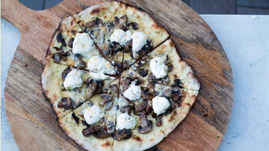 Pizza Col di Lavacchio Tuscany Italy