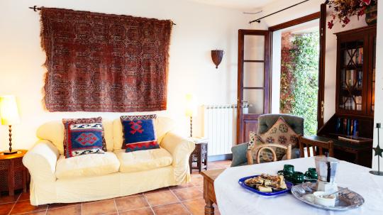 sitting room la stalla tuscany italy