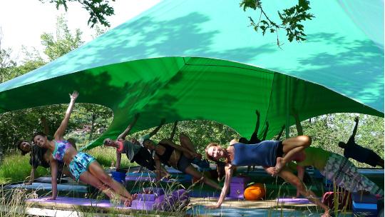 Yoga retreat Col di Lavacchio Tuscany Italy